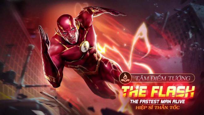 Cách lên đồ cho tướng The flash