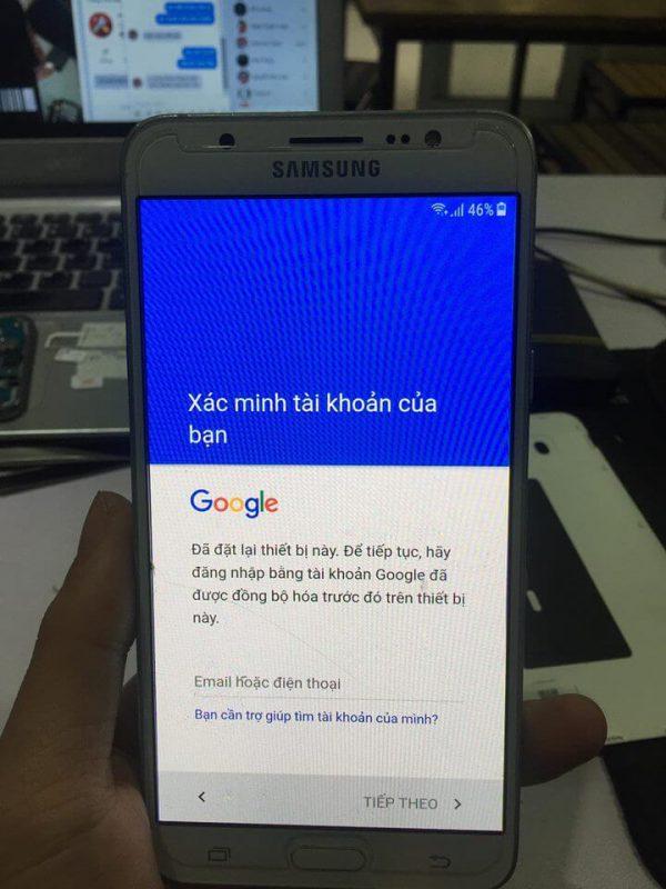 Xac Minh J7 Gmail