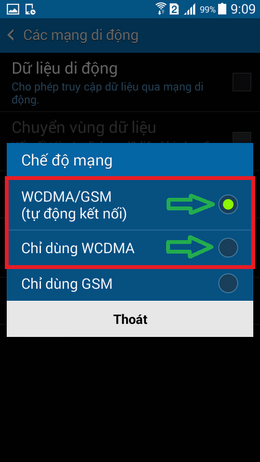 gọi video samsung