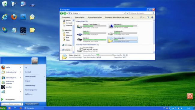 file windows xp