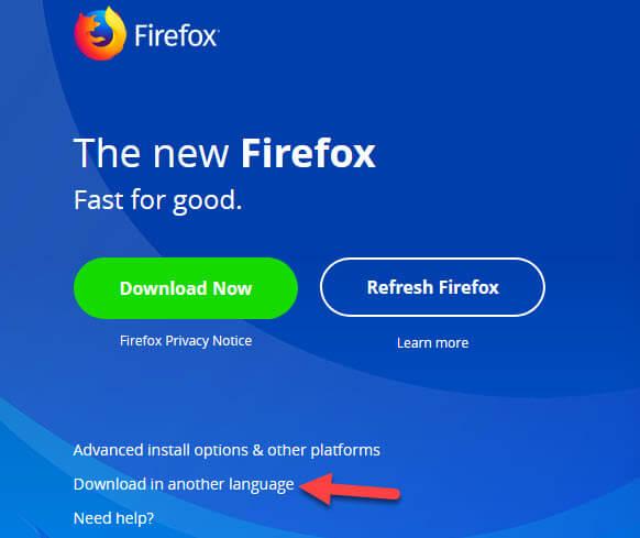Mozilla Firefox Tieng Viet
