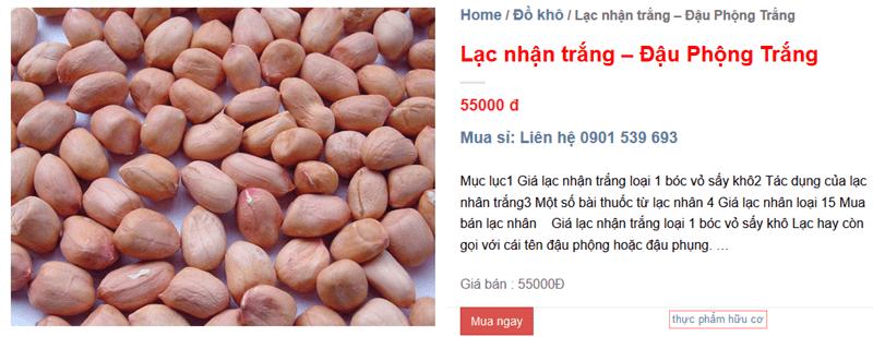Bao Nhieu Tien 1 Lit Dau Lac