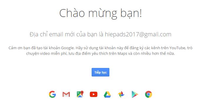 Dang Ky Tai Khoang Ch Play Gmail 2017 Tao Gmaill 2