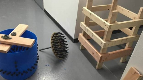 máy vặt lông gà tự chế