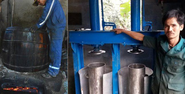 máy ép dầu thủy lực