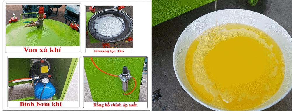 máy lọc dầu khí nén