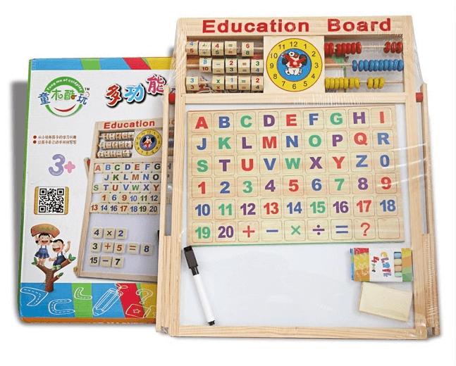 đồ chơi chữ số cho bé 2 tuổi