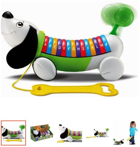cún con đồ chơi cho bé 1 tuổi