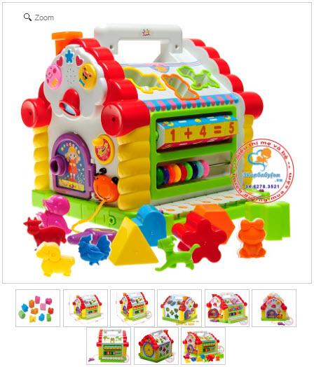 đồ chơi ngôi nhà âm nhạc trẻ em