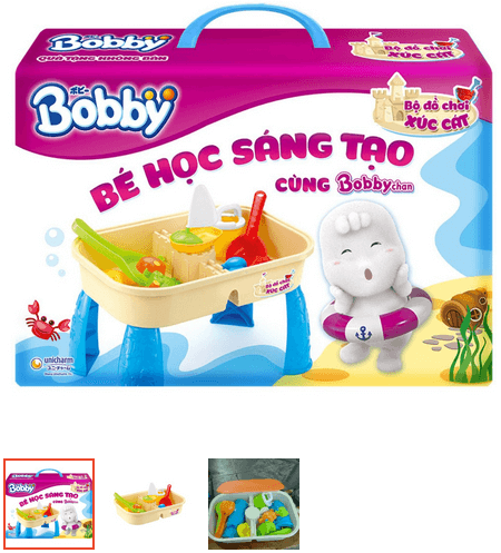 đồ chơi xúc cát cho bé
