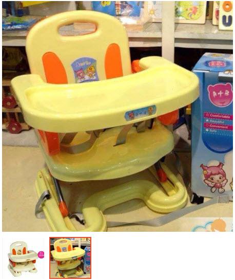 ghế tập ăn cho bé 1 tuổi