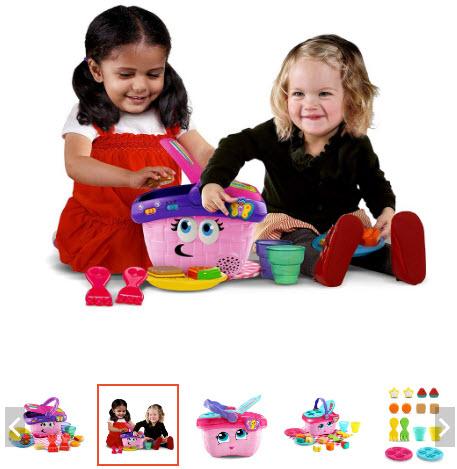 giỏ hàng đồ chơi cho bé 1 tuổi