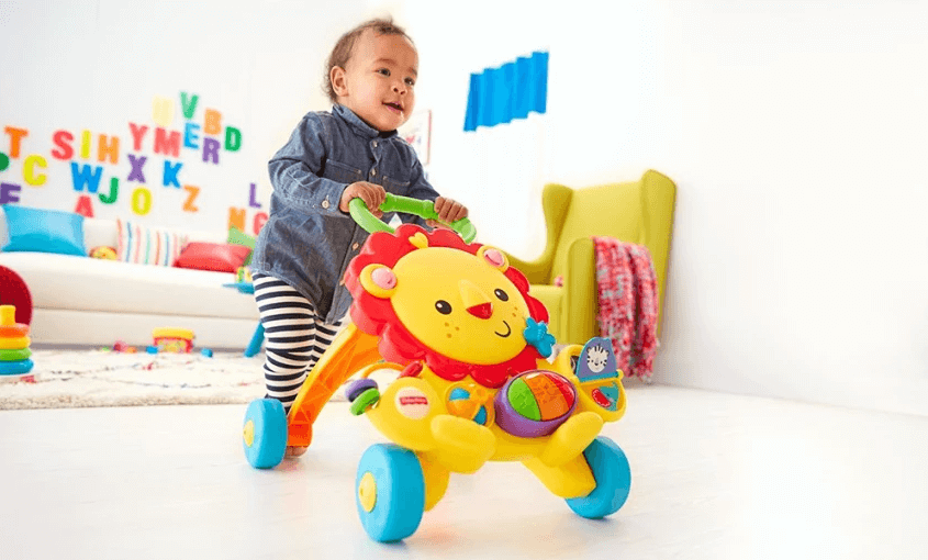 Su Tu Tap Di Fisher Price Y9854 Vang