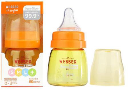 bình sữa Wesser cho bé