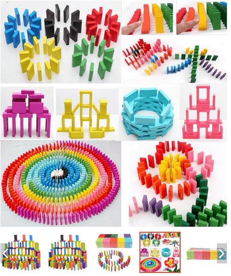 đồ chơi domino trẻ em