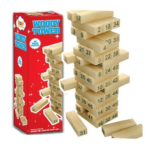 đồ chơi rút gỗ thông minh trẻ em