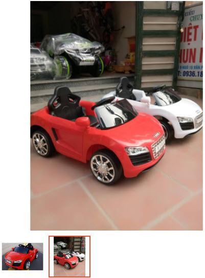ô tô trẻ em tự lái