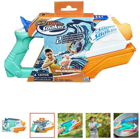 súng nước đồ chơi phun cực xa