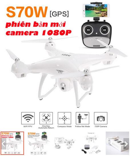Flycam S70W 2GPS giá rẻ