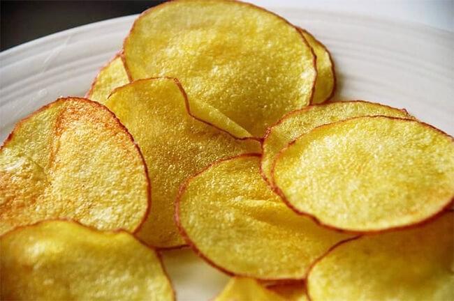 cách làm khoai tây sấy giòn