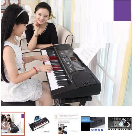 đàn piano trẻ em