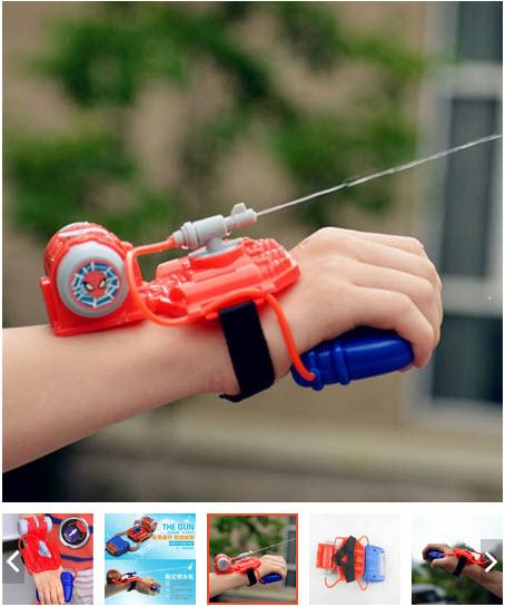 đồ chơi bắn nước đeo tay