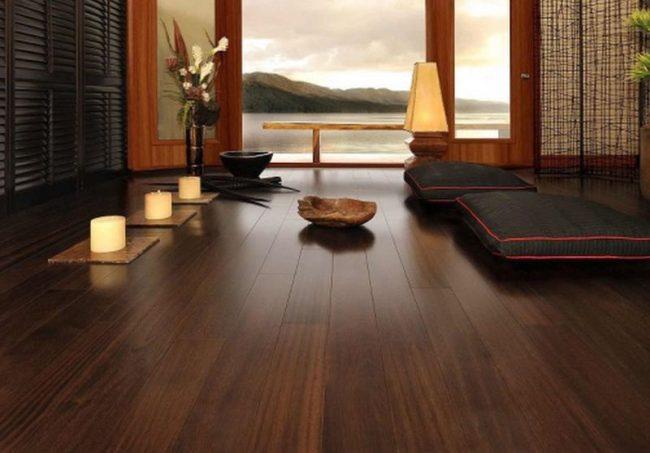 lát sàn gỗ cho căn hộ chung cư