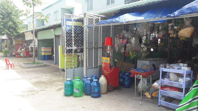 khu chợ búa