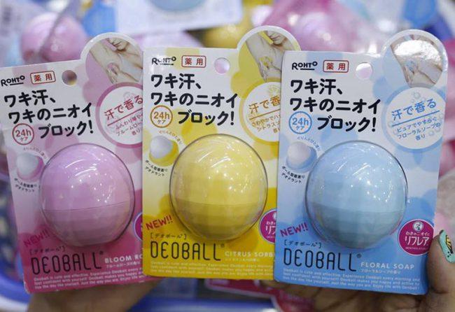 Lăn khử mùi Nhật