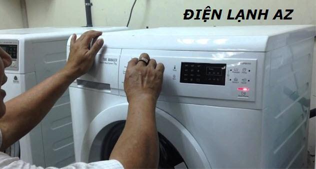 hướng dẫn sửa lỗi máy giặt