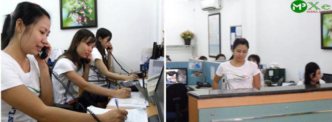 nhân viên chăm sóc khách hàng