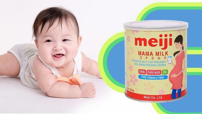 Sữa bầu Meiji Mama Nhật