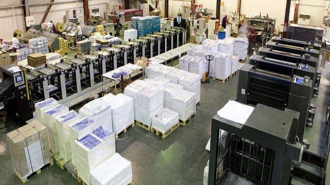 Xưởng in ấn của Nam Việt AD