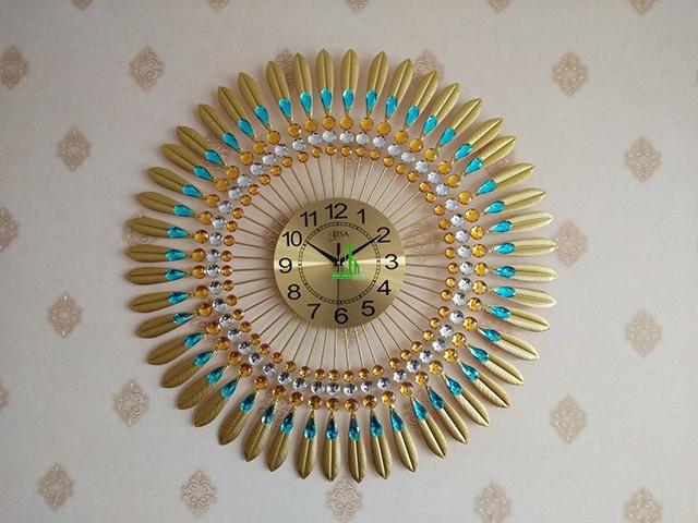 đồng hồ treo tường tự chế