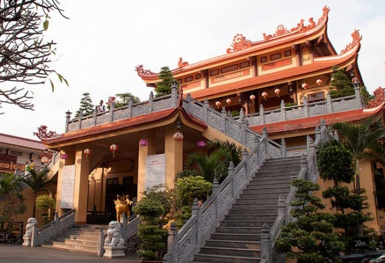 không gian chùa