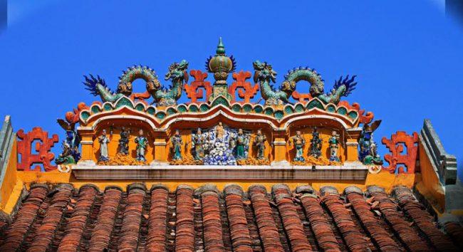 mái chùa giác lâm