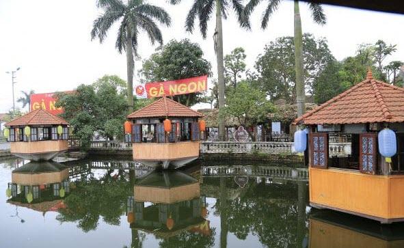 quán ăn ở chùa hương