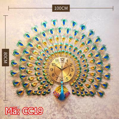 đồng hồ treo tường cao cấp