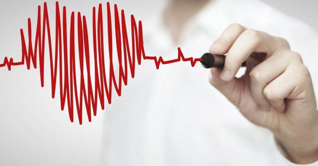 nhịp tim đập nhanh