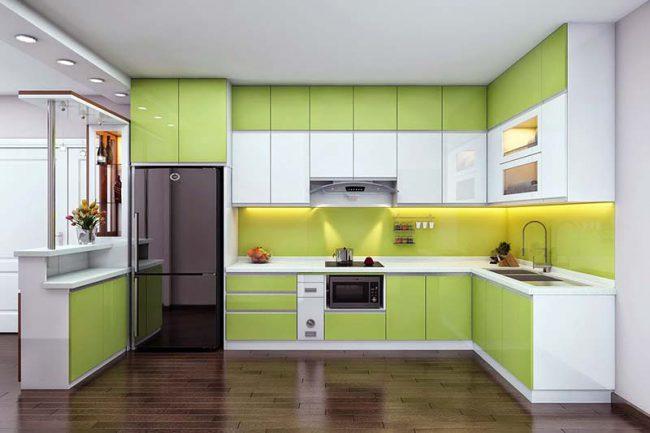 phong thủy tủ bếp