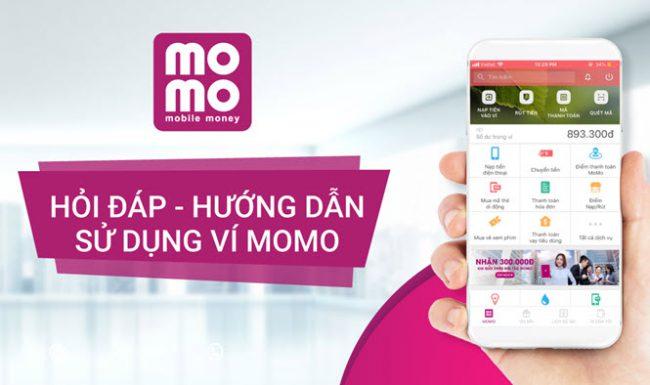 hướng dẫn sử dụng ví momo