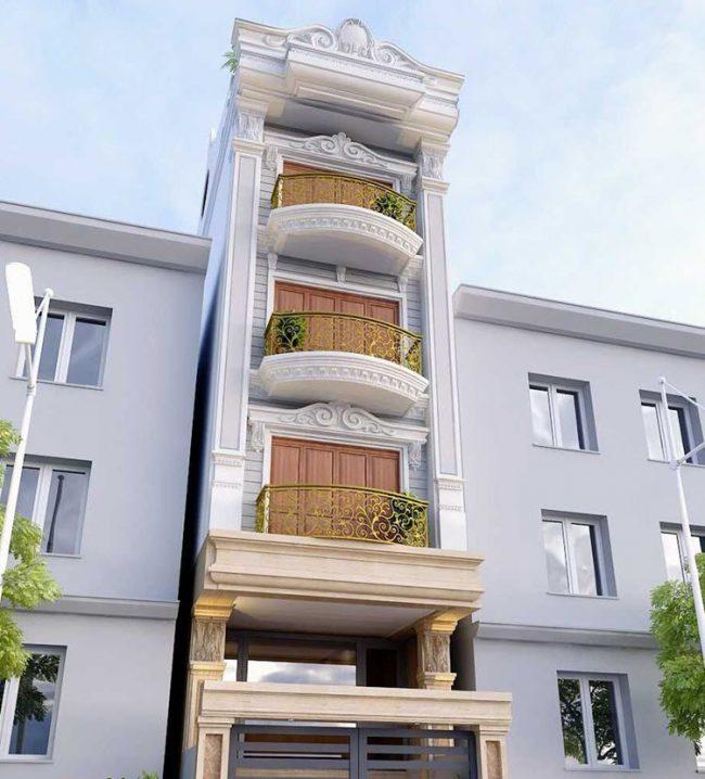 nhà 4 tầng