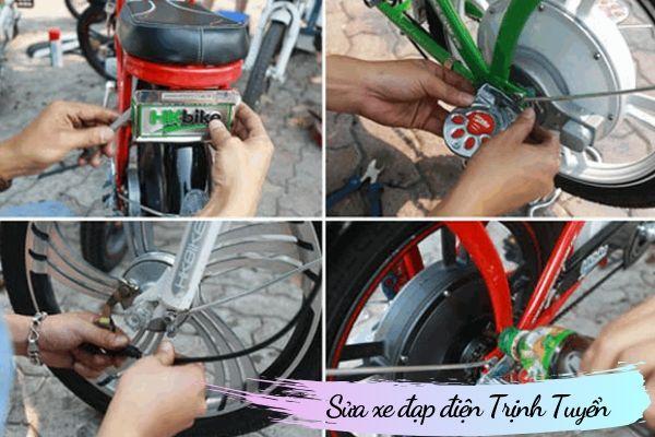 sửa xe đạp điện trịnh tuyển
