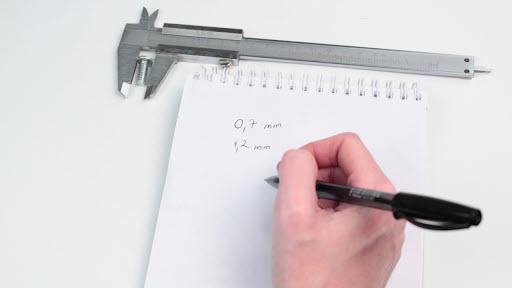 cách đọc thước cặp