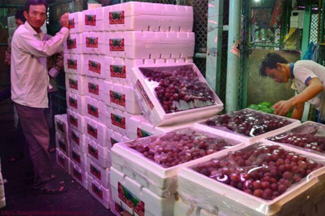 thùng hoa quả