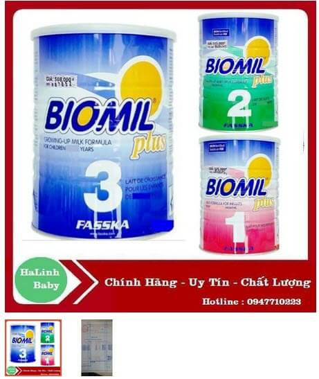 sữa bột biomil