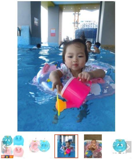 phao bơi cho trẻ em