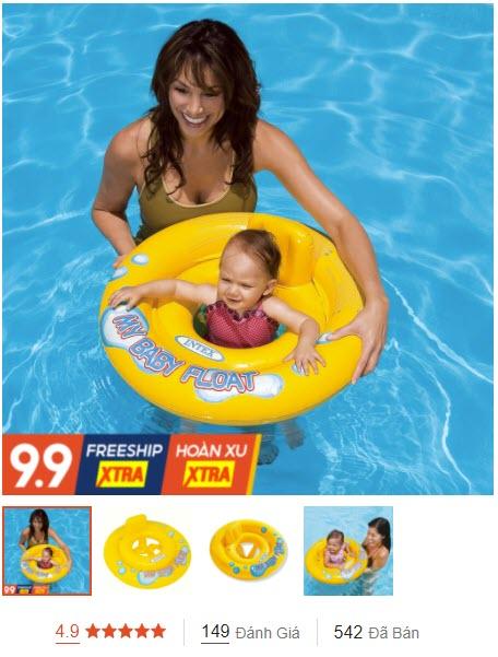 bao bơi chống lật cho bé