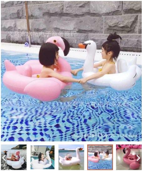 bể bơi hình thiên nga
